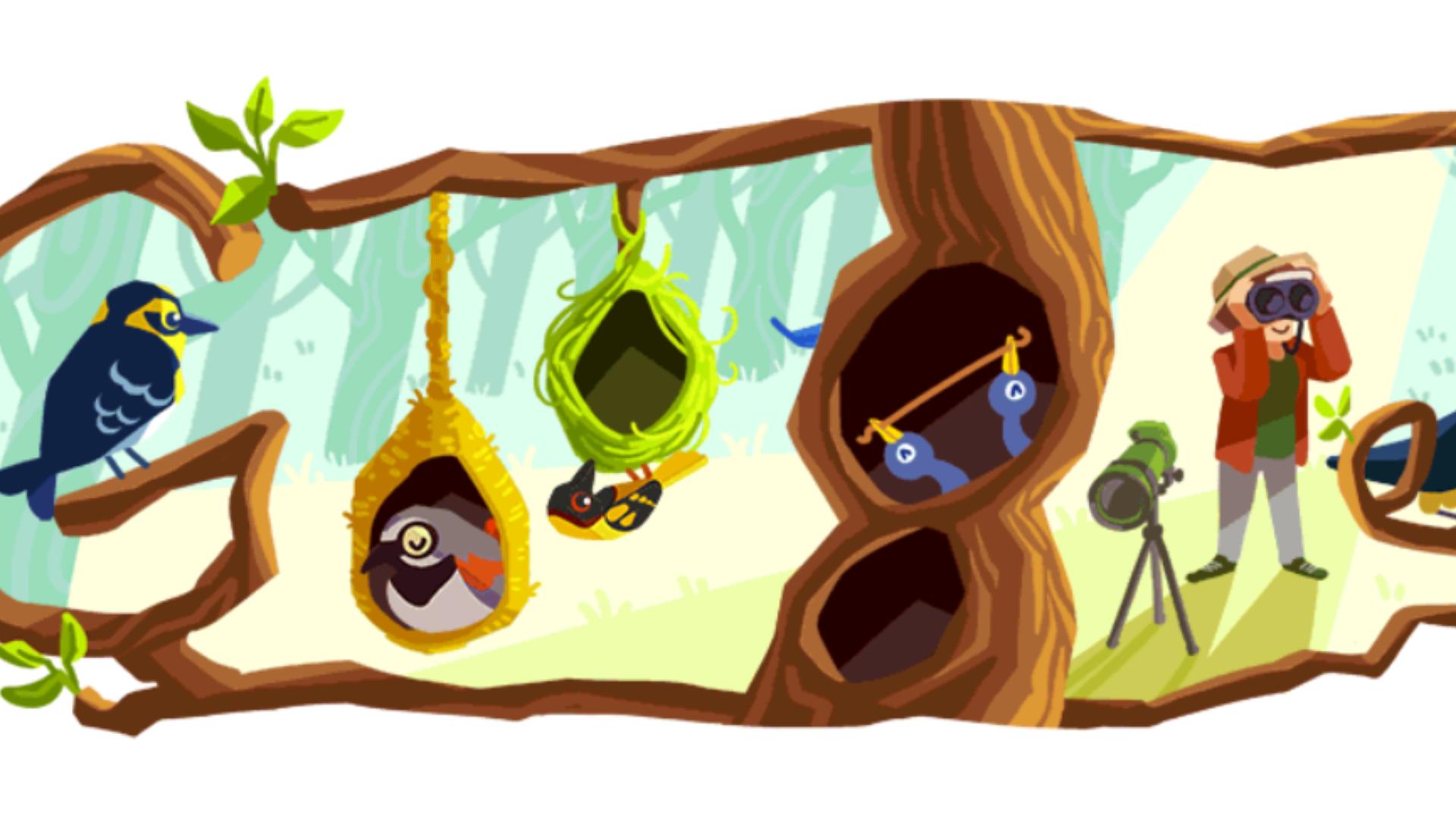 Phoebe-snetsingers google doodle