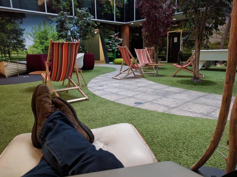Google artificial indoor garden