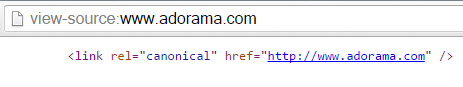 HTTP Canonical