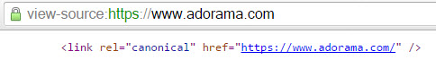 HTTPS Canonical