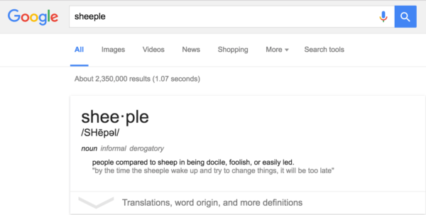 Very subtle, Google.