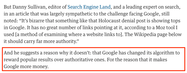 how_to_bump_holocaust_deniers_off_googles_top_spot__pay_google___technology___the_guardian